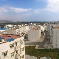 Apartment with 2 bedrooms in M'diq with wonderful mountain view and balcony