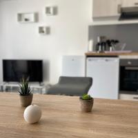 Grand studio confortable et spacieux avec terrasse, hotel in Villeneuve-lès-Maguelonne