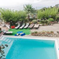 Apartment with 2 bedrooms in Villammare with wonderful sea view shared pool and enclosed garden 500 m from the beach, hotell i Villammare