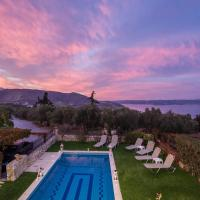 Sea view villa Manolis with private pool near the beach