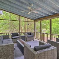 Lakefront House with Private Dock & Fire Pit!, hotel in Eatonton