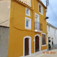 House with 4 bedrooms in Sant Pere Sacarrera with wonderful mountain view furnished terrace and WiFi 35 km from the beach