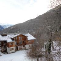 Appartement d'une chambre a Orelle avec magnifique vue sur la montagne piscine partagee et balcon amenage
