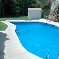 House with 4 bedrooms in Benalmadena with wonderful sea view shared pool and furnished terrace 100 m from the beach