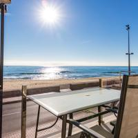 Apartment with 3 bedrooms in Fuengirola with wonderful sea view and terrace 110 km from the slopes