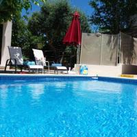 Villa with 3 bedrooms in Kritou Tera with wonderful sea view private pool enclosed garden, hotel in Kritou Terra