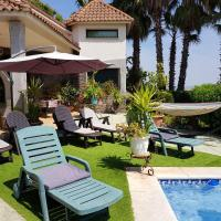 Villa with 5 bedrooms in Santa Amalia, with wonderful mountain view, private pool, enclosed garden