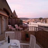 exclusive apartment with two huge terraces and parking