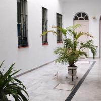 Apartment with 2 bedrooms in Sevilla with wonderful city view balcony and WiFi