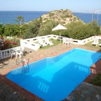 Apartment with one bedroom in Ammoudara with shared pool balcony and WiFi 100 m from the beach