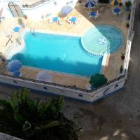 Apartment with 3 bedrooms in Asilah, with wonderful sea view, shared pool and furnished terrace - 500 m from the beach