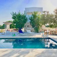 Jolie villa avec piscine au milieu des oliviers, hotel a San Vito dei Normanni