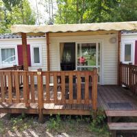 Mobil Home Climatisé Camping du Vieux Moulin, hôtel à Châtillon-sur-Broué