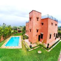 Villa with 3 bedrooms in Aghmat with wonderful mountain view private pool enclosed garden, hotel in Aghmat