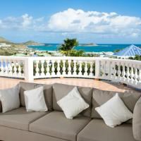 Villa with 3 bedrooms in ST MARTIN with wonderful sea view private pool enclosed garden 500 m from the beach