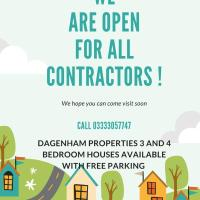 DAGENHAM 3 BEDROOMS2BATHS