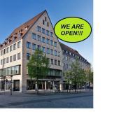Sorat Hotel Saxx Nürnberg, hotel v Norimberku