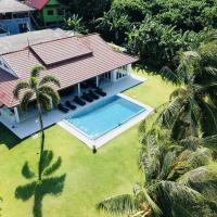 Private pool villa on the beach