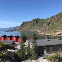 Nydelig hytte og fantastisk utsikt til Lofotveggen