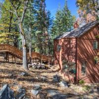 Rustic 1Bdr w Loft Cabin- Inside Yosemite National Park