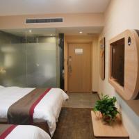 Thank Inn Chain Hotel Hebei Baoding Wangdu County Bus Station, отель в городе Baoding