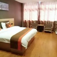 JUN Hotels Jiangsu Nantong Tongzhou West Jinsi Road Hantang Impression, отель в городе Наньтун