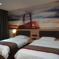 Thank Inn Chain Hotel Shandong Ji'nan Jiyang Yingcai Academy (North), hotel near Jinan Yaoqiang International Airport - TNA, Cuizhai