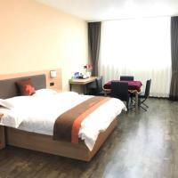 JUN Hotels Hebei Langfang Guangyang Wanzhuang Town Wancai Road, hotel near Beijing Daxing International Airport - PKX, Langfang