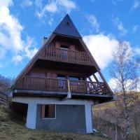 Chalet de 2 chambres a Saint Lary Soulan avec magnifique vue sur la montagne et balcon amenage