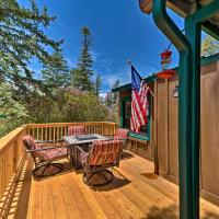 Cozy Outdoorsy Haven by Golf Course with Deck!