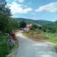House with 3 bedrooms in Poljica with wonderful mountain view furnished garden and WiFi 15 km from the beach