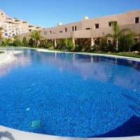 Apartment with 2 bedrooms in Mojacar with wonderful sea view shared pool furnished terrace 400 m from the beach