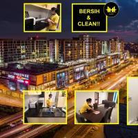 Luco Apartments @ Viva City Megamall, hotel di Kuching
