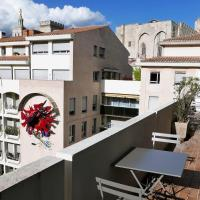 Bright flat w large balcony and garage at the heart of Avignon - Welkeys