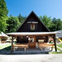Camp Korita, hotel v mestu Soča