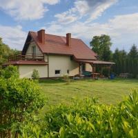 Przytulny domek i sauna na pojezierzu Łęczyńsko - Włodawskim