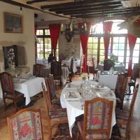 hotel restaurant du thaurion、Saint-Hilaire-le-Châteauのホテル