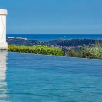 Luxury Pool Apartment at Villa Seburga