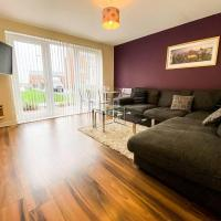 Glasgow Ellerslie Path 2bd Home - Parking
