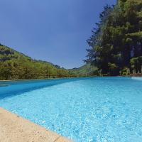 Il Bosco di Campo Marzano Garden Apartment, hotell i Borzonasca