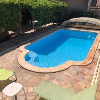 Chambres d'hôtes Chez Martine et Stéphane, hôtel à Vitrolles près de: Aéroport de Marseille Provence - MRS