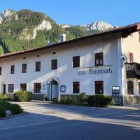 Wirtshaus zum Baumbach, hotel in Aschau im Chiemgau