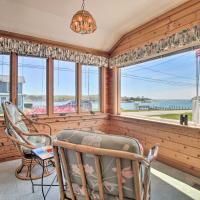 Niantic Getaway with Water Views - Walk to Beach, hotel in Niantic