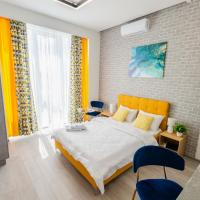View smart Apartment on 26 floor Kvartet Railway Station 4D