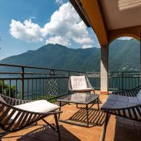 3 Apartments on the lake -view & parking, hotel in Nesso
