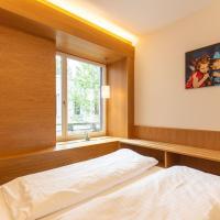Hotel & Lounge by Hyve Basel SBB, hotel in Basel