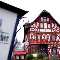 Karins Gasthof,勞特爾巴赫的飯店