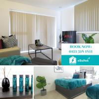 Tudors eSuites Apartment with 3 Beds Balcony & Private Parking