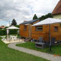 Tiny-house et ou tipi, hôtel à Wihr-au-Val