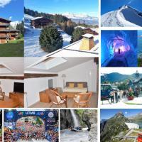 Saint Gervais - Le Bettex T3 Duplex (1400m d'altitude)/ 55m2 / Vue Mont Blanc - Aux Pieds des Pistes!